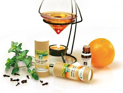 Les  huiles, huiles essentielles et Aromathérapie